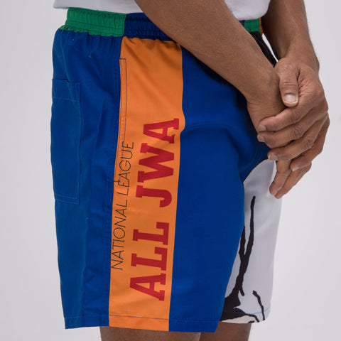 J.W. Anderson Baseball Card Swimshorts - Notre