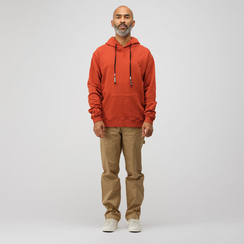 J.W. Anderson Beaded String Hoody in Saffron - Notre