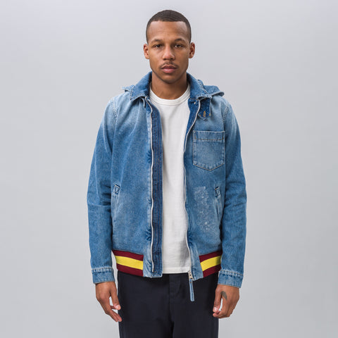 J.W. Anderson Bomber Jacket with Hoodie - Notre