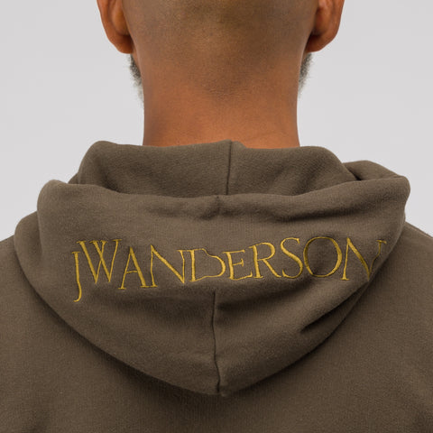 J.W. Anderson Embroidered Hood Logo Sweatshirt - Notre