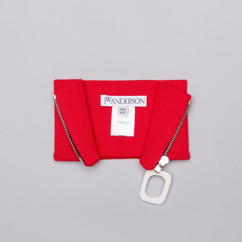 J.W. Anderson JWA Neckband in Pillbox Red - Notre