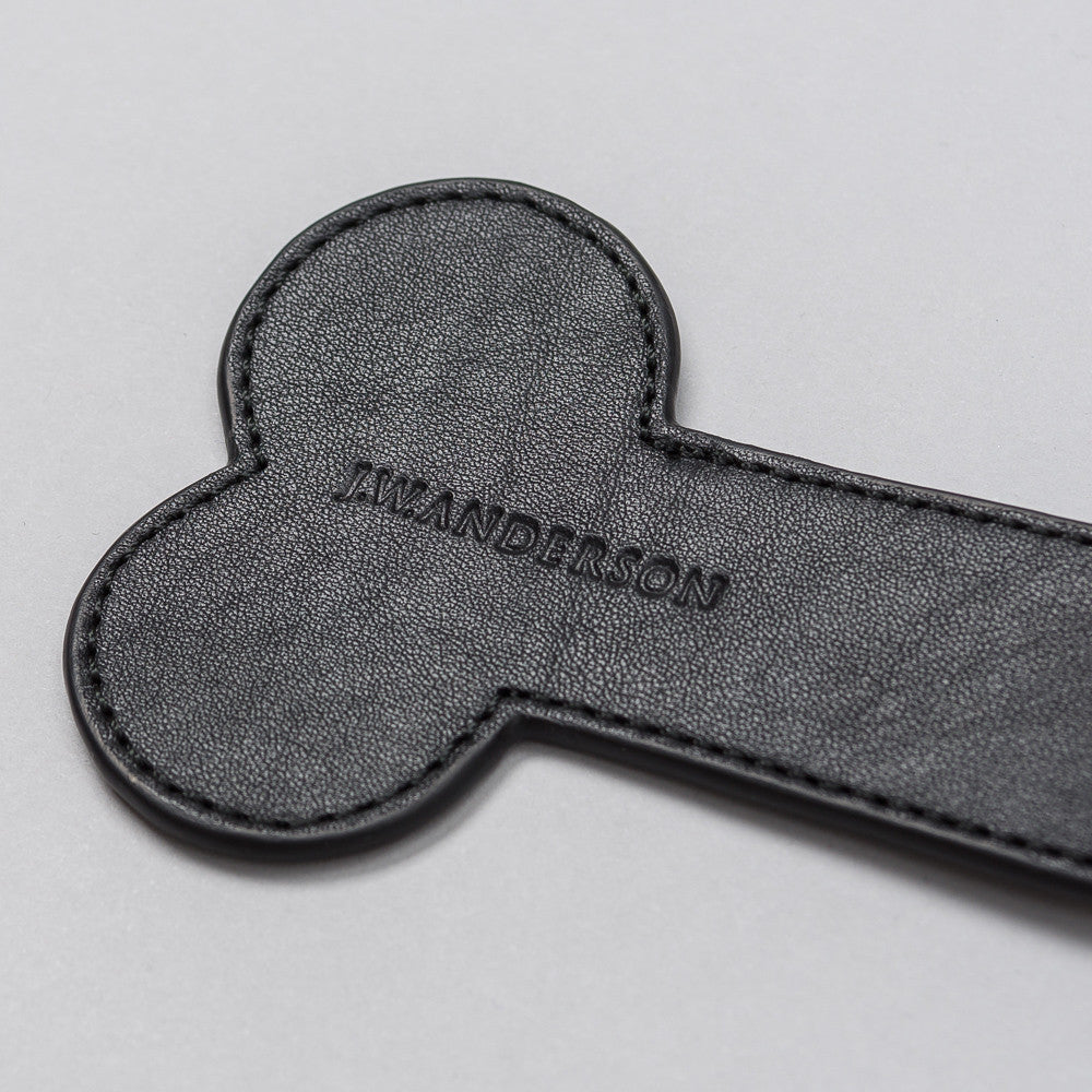 J.W. Anderson Key Ring in Black - Notre