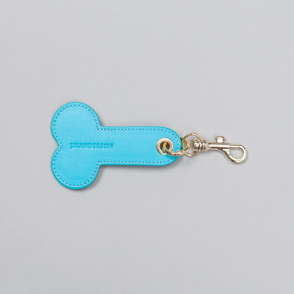 J.W. Anderson Key Ring in Ocean - Notre