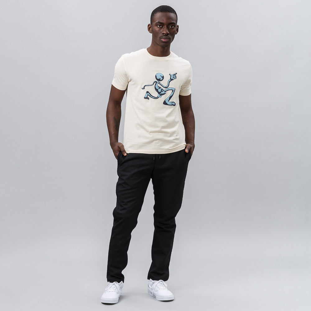 J.W. Anderson Mercury Man Logo T-Shirt in White Notre 1