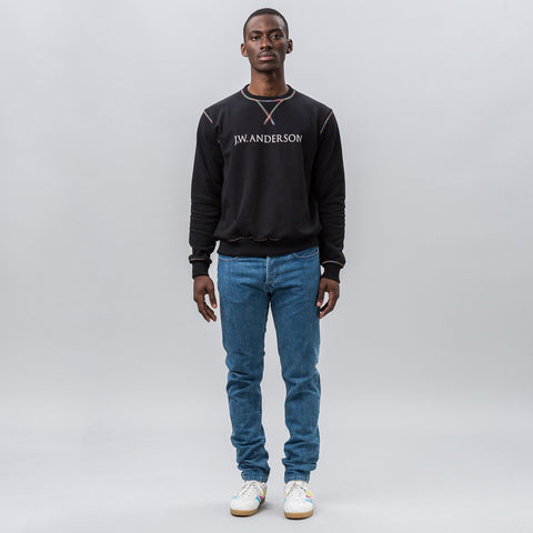 J.W. Anderson Sweatshirt with Rainbow Stitch - Notre