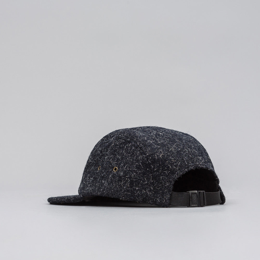 John Elliott 5 Panel Hat in Black Wool - Notre