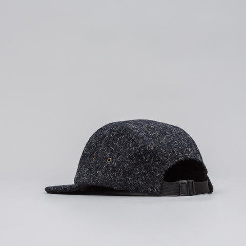 John Elliott 5 Panel Hat in Black Kempy Wool - Notre