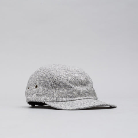 John Elliott 5 Panel Hat in Chalk Kempy Wool - Notre