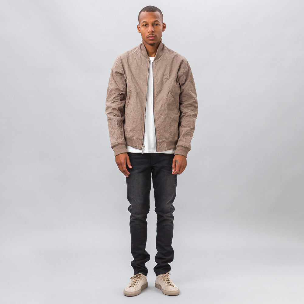 John Elliott - Aluminum Flight Jacket in Oak - Notre - 1