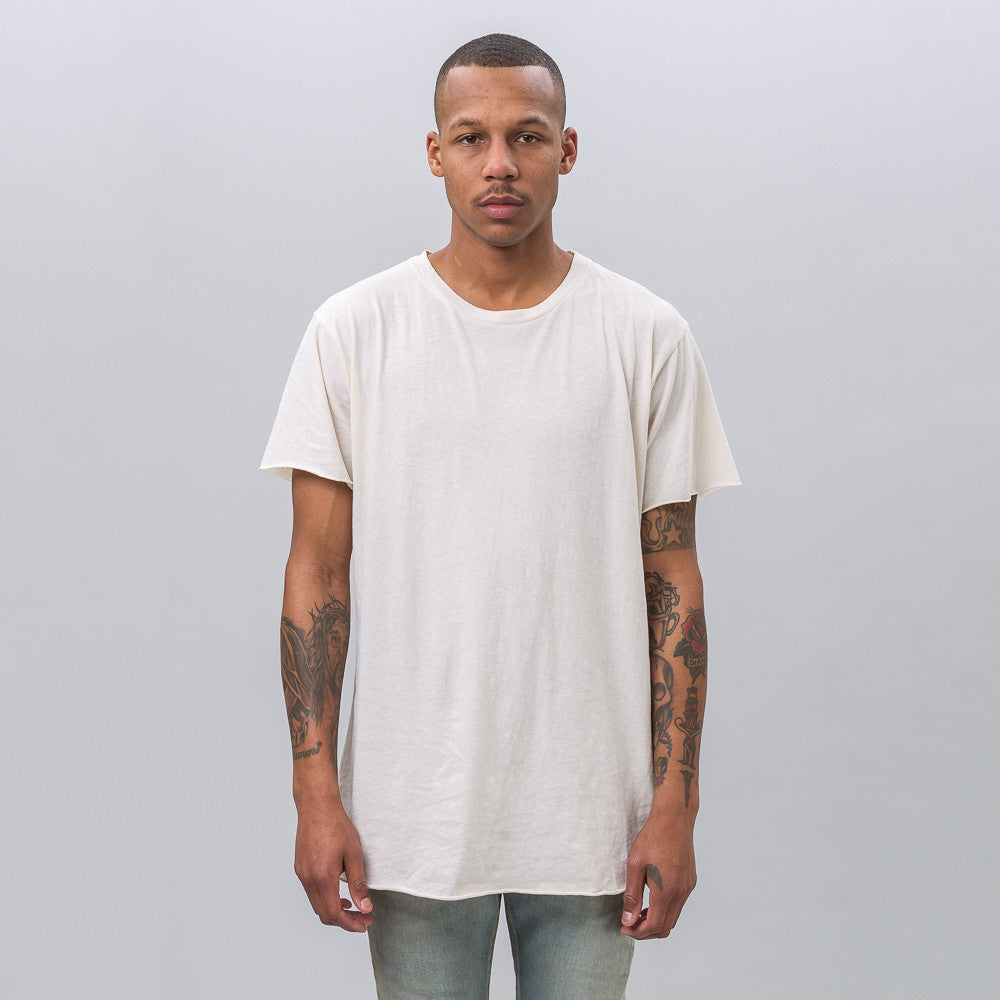 John Elliott Anti-Expo Tee in Natural - Notre