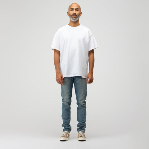 John Elliott Basalt T-Shirt in White - Notre