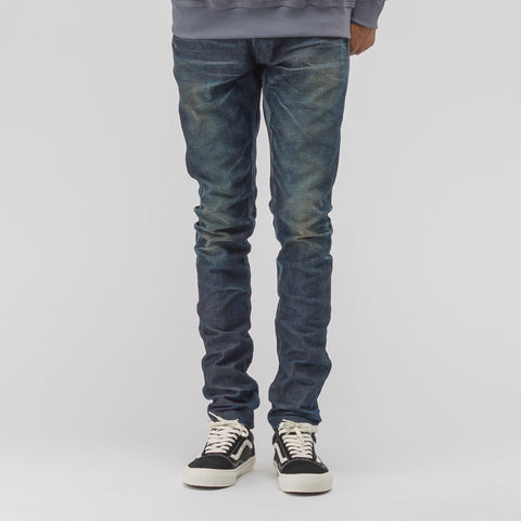John Elliott Cast 2 Denim Dirty Dry Process in Indigo - Notre