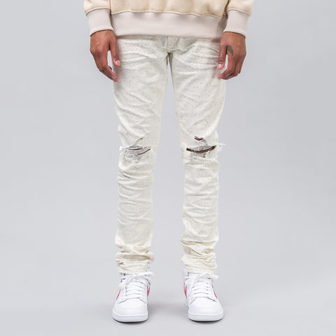 John Elliott Cast 2 Paint Splatter in Speckled White - Notre