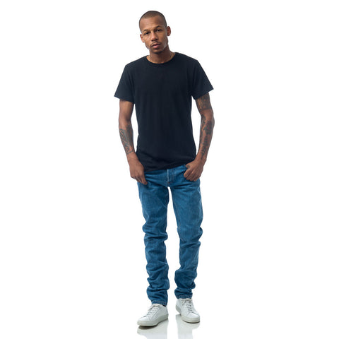 John Elliott Classic Crew in Co-Mix Black - Notre