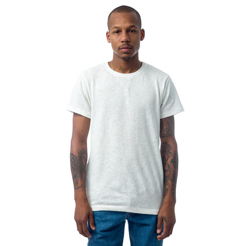 John Elliott Classic Crew in Co-Mix White - Notre