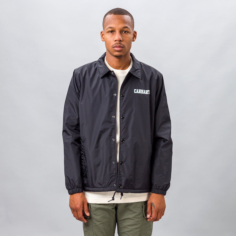 Carhartt WIP - College Coach Jacket in Black - Notre - 1