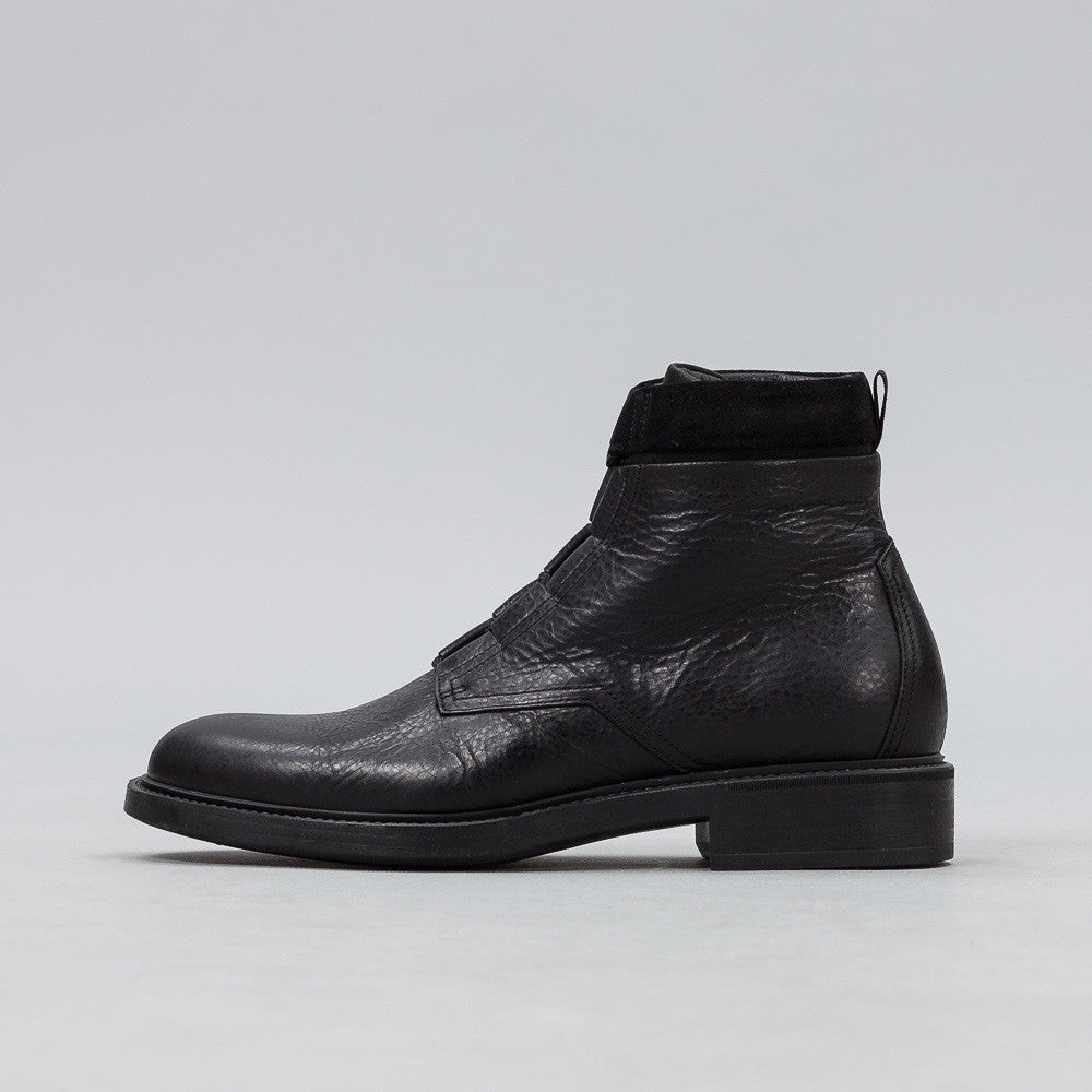 John Elliott - Combat Boots in Black Leather - Notre - 1