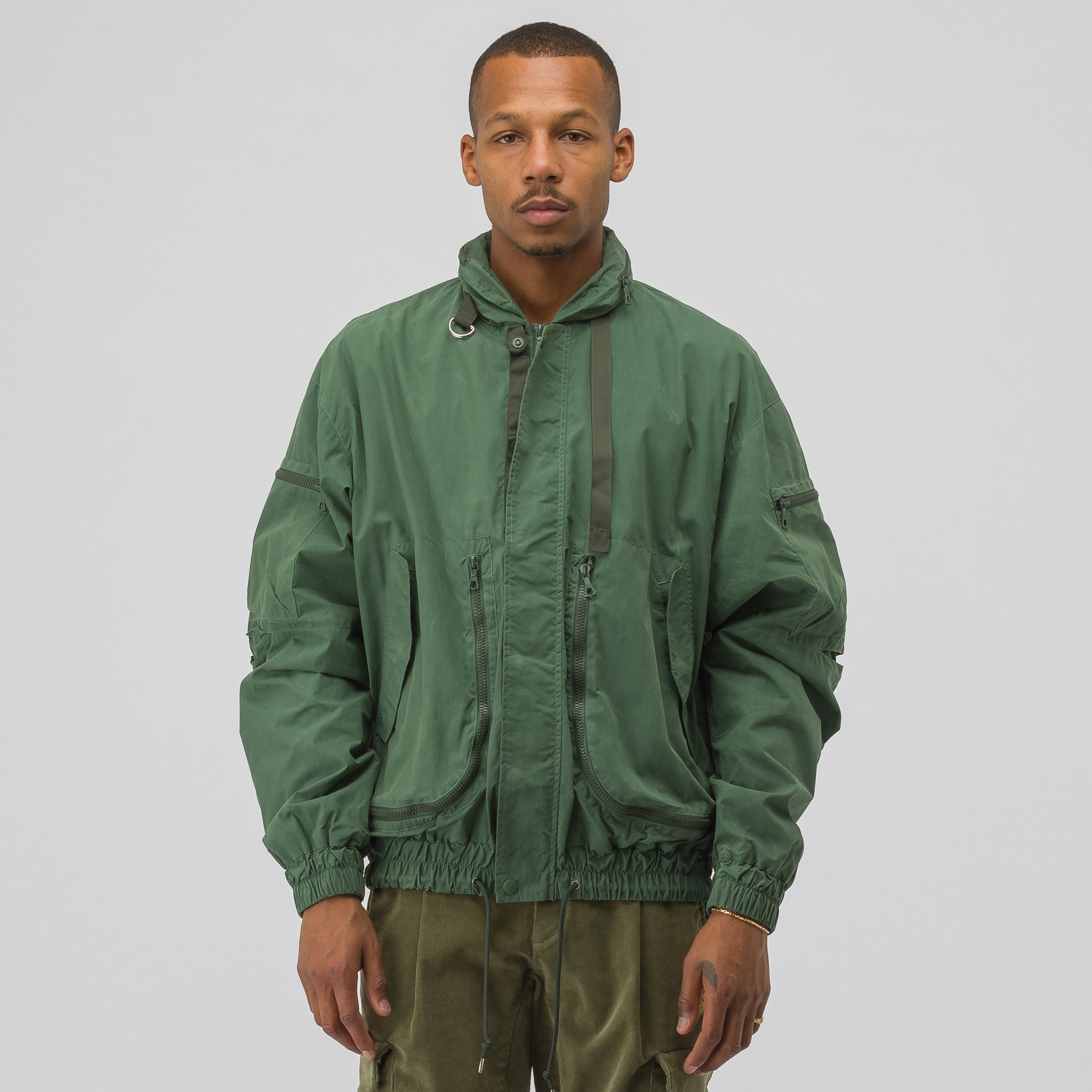 SRD Parachute Jacket in Olive