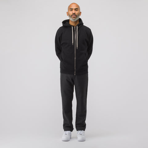 John Elliott Flash 2 Full Zip Sweatshirt in Black - Notre