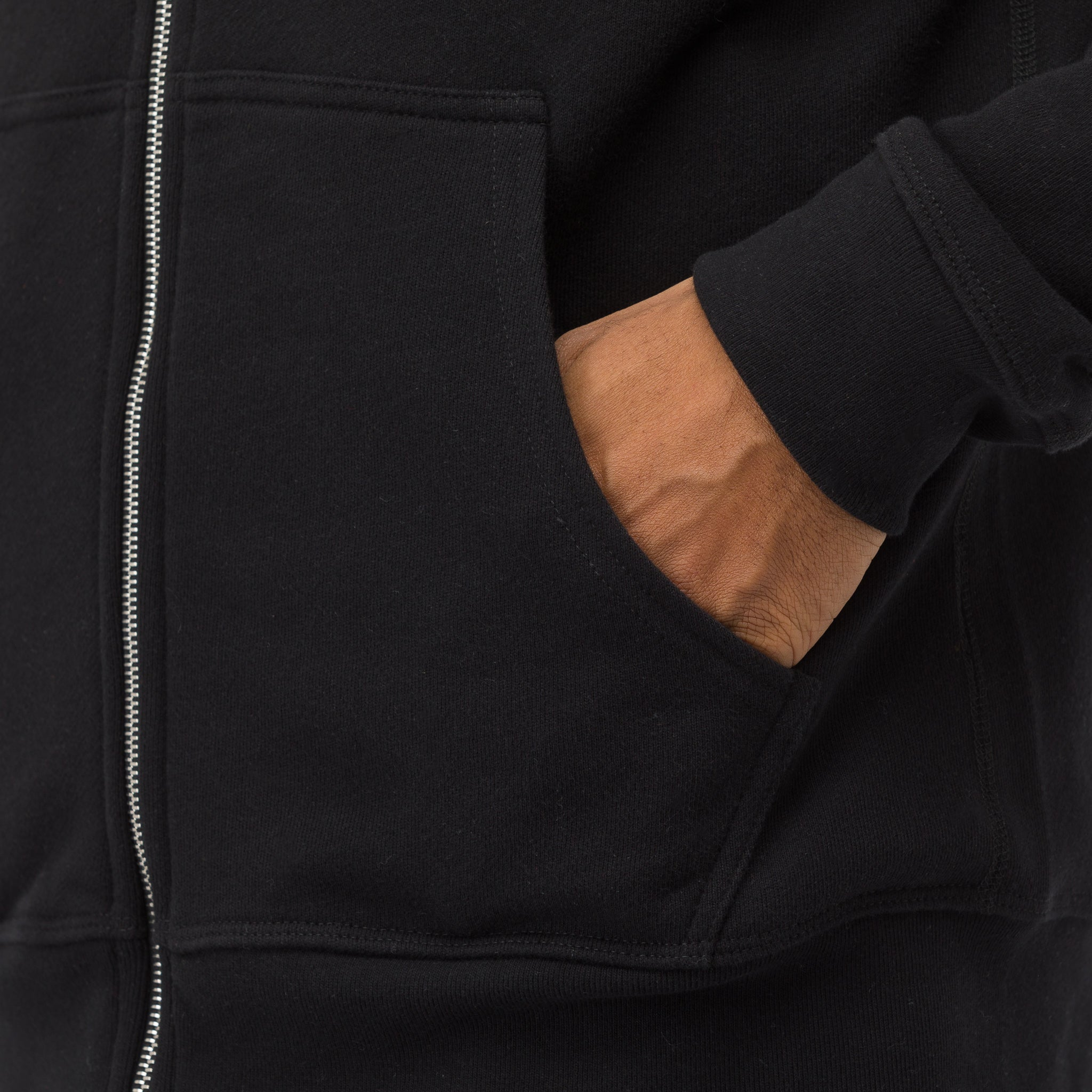 Flash 2 Full Zip Sweatshirt in Black