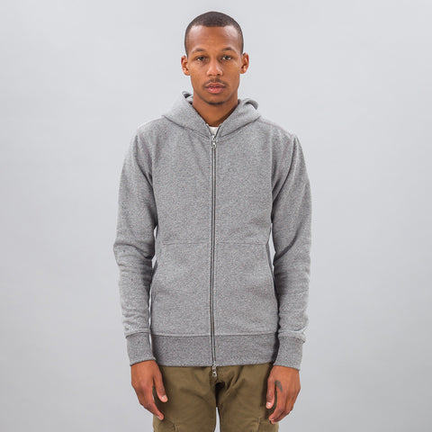 John Elliott Flash Dual Fullzip in Grey - Notre