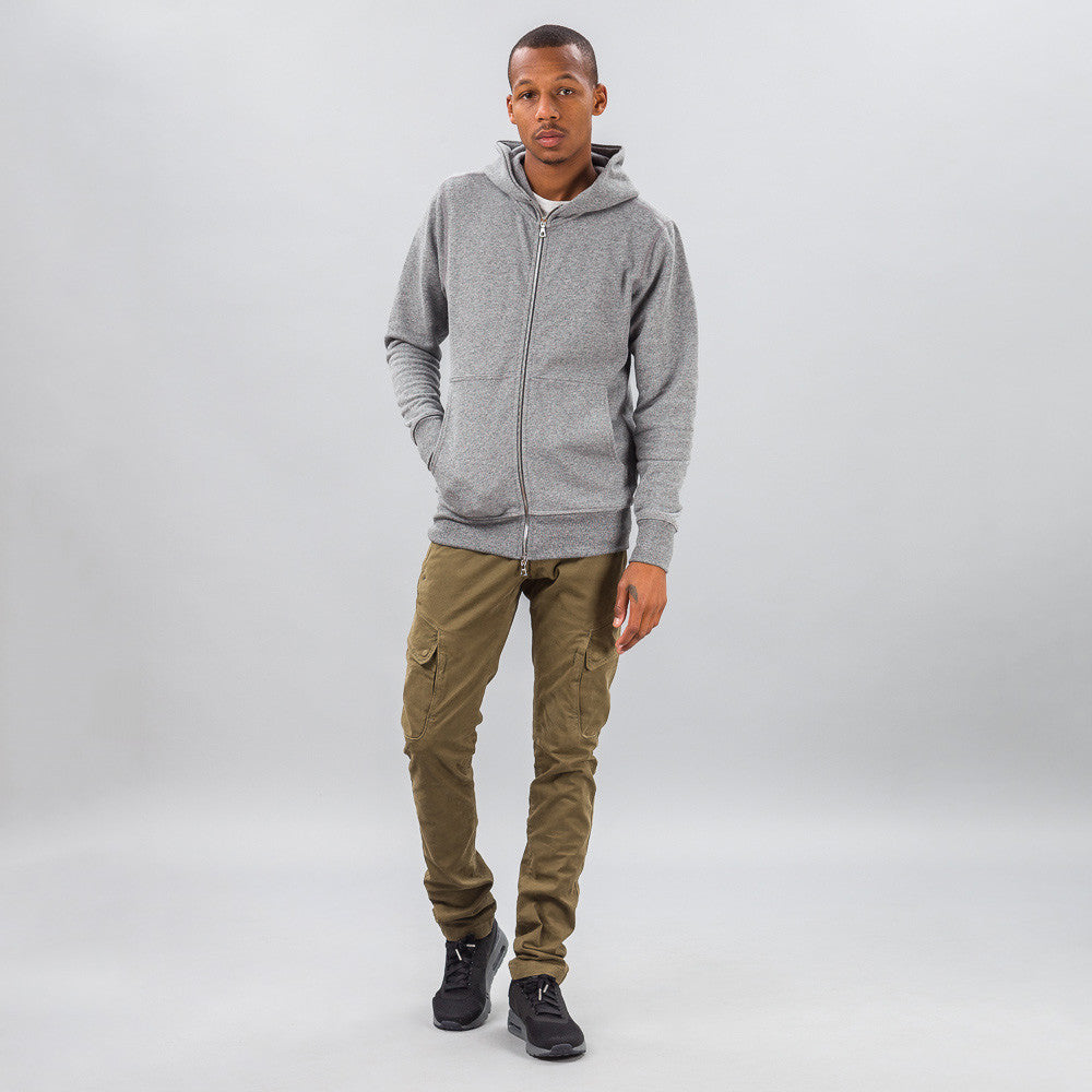 John Elliott - Flash Dual Fullzip in Grey - Notre - 1