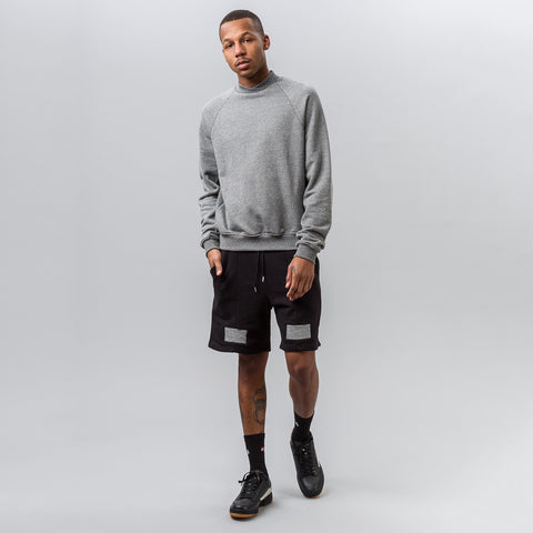 John Elliott Hellweek Crew in Dark Grey - Notre