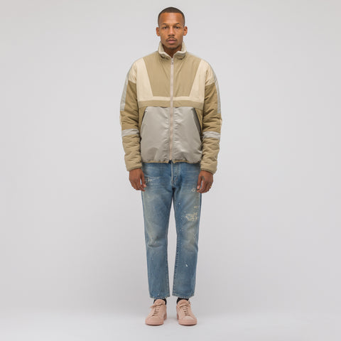 John Elliott Reversible Sail Jacket in Dune - Notre
