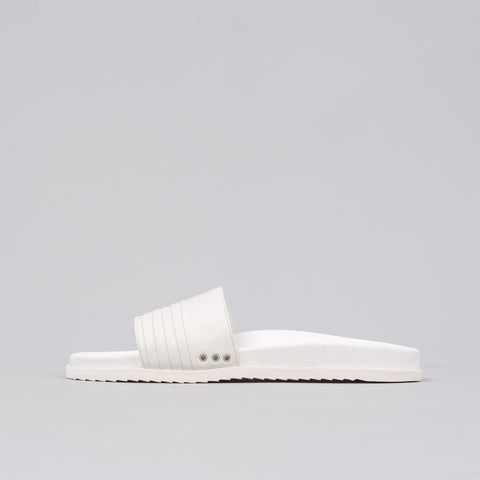 John Elliott Leather Sandal in White - Notre