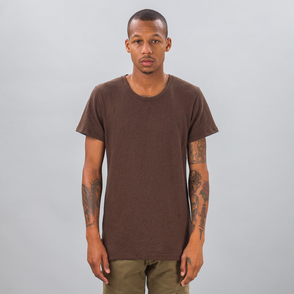 John Elliott - Mercer Tee in Co-Mix Brown - Notre - 1