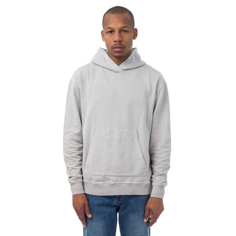 John Elliott Oversized Cropped Hoodie in Clay - Notre