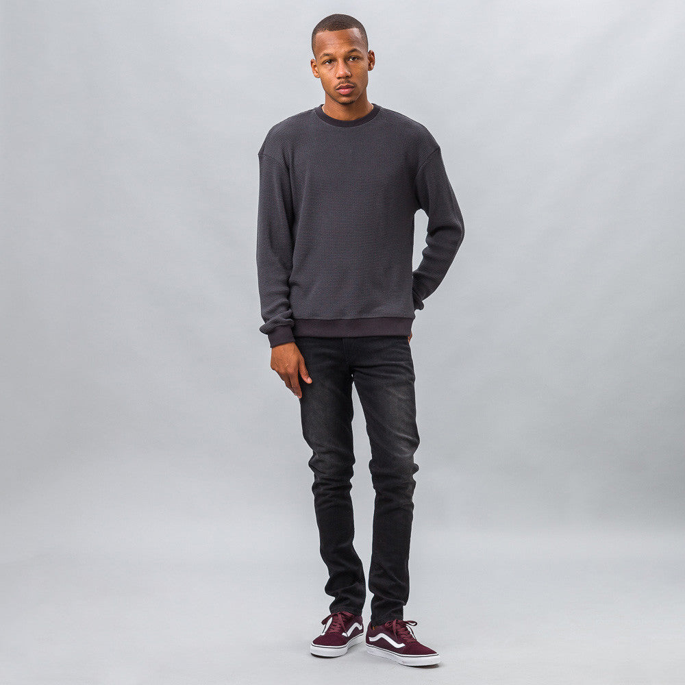 John Elliott - Oversized Thermal Crew in Slate - Notre - 1