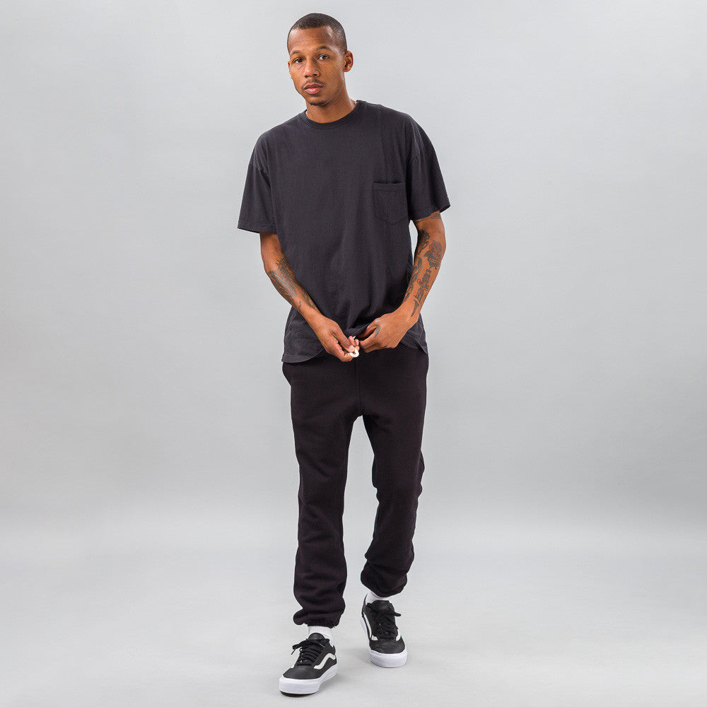 John Elliott - Paneled Pocket Tee in Slate - Notre - 1