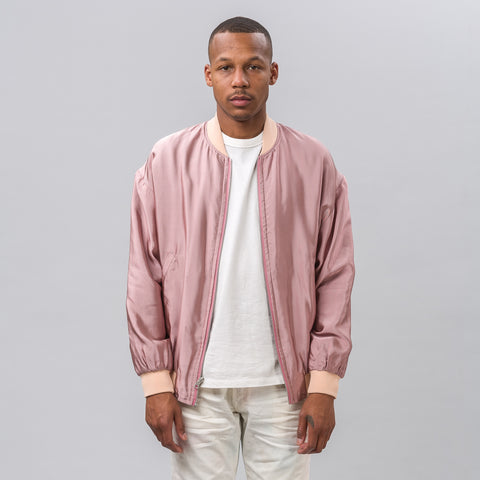 John Elliott Pisces Reversible Jacket in Black/Pink - Notre