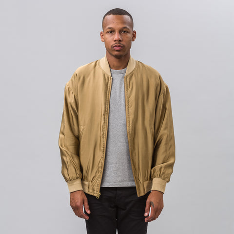 John Elliott Pisces Reversible Jacket in Gold/Jellyfish - Notre