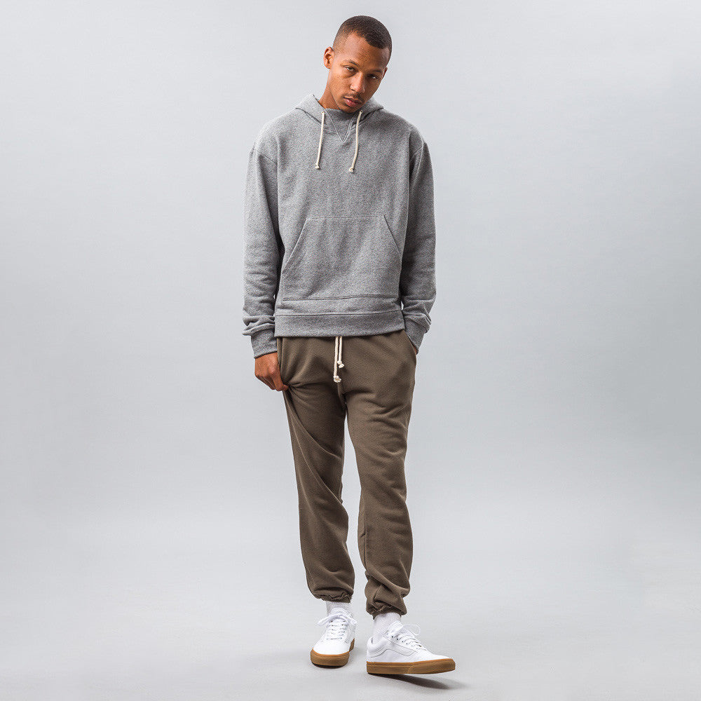 John Elliott - Raw Edge Sweatpants in Alpine - Notre - 1