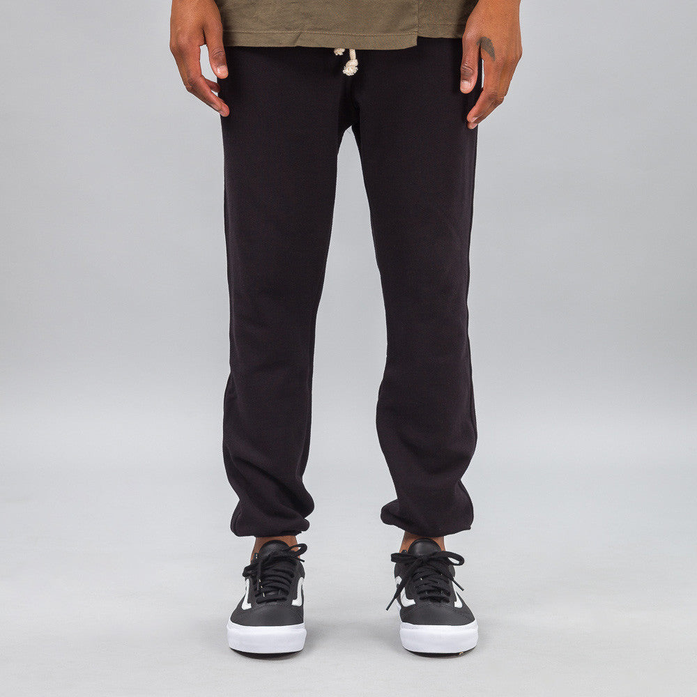 John Elliott - Raw Edge Sweatpants in Black - Notre - 1