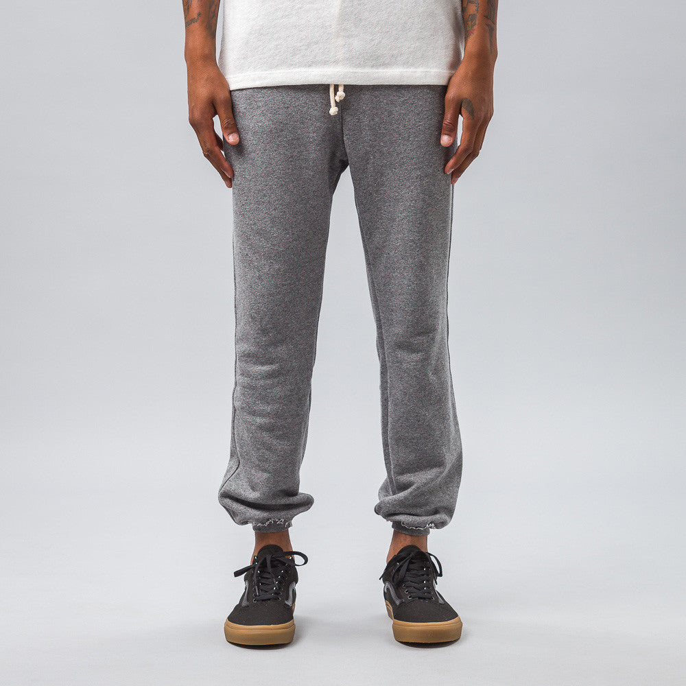 John Elliott - Raw Edge Sweatpants in Dark Grey - Notre - 1
