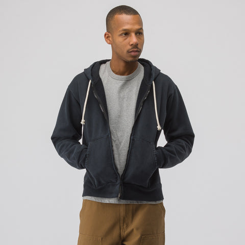 John Elliott Replica Hoodie in Washed Black - Notre