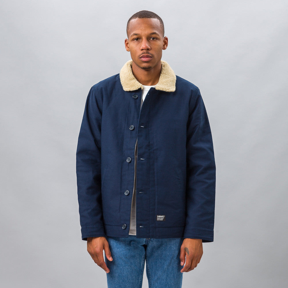 Carhartt WIP - Sheffield Jacket in Navy - Notre - 6