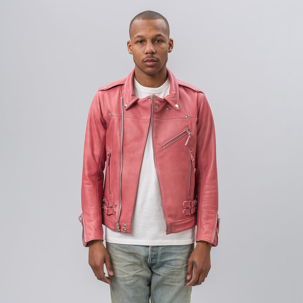 John Elliott Summer Riders Jacket in Pink - Notre