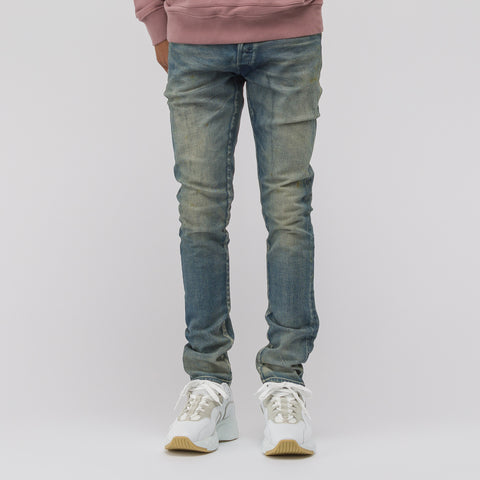 John Elliott The Cast 2 Denim in Archive Rust - Notre