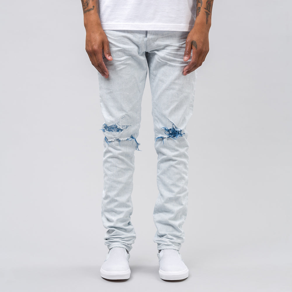 The Cast 2 Denim in Reverse Indigo Weft