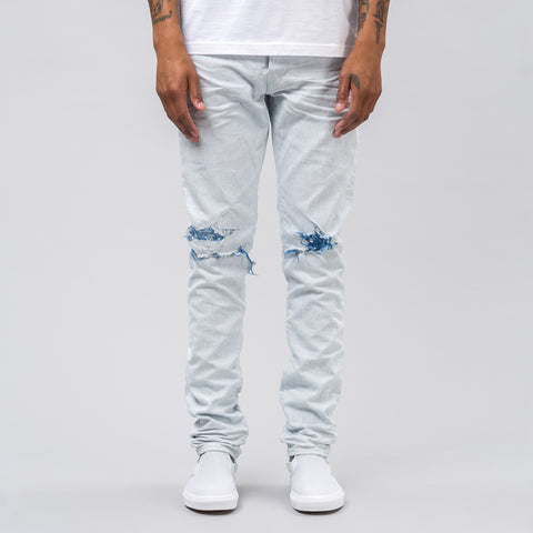 John Elliott The Cast 2 Denim in Reverse Indigo Weft - Notre