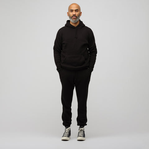 John Elliott Vintage Fleece Hoodie in Black - Notre