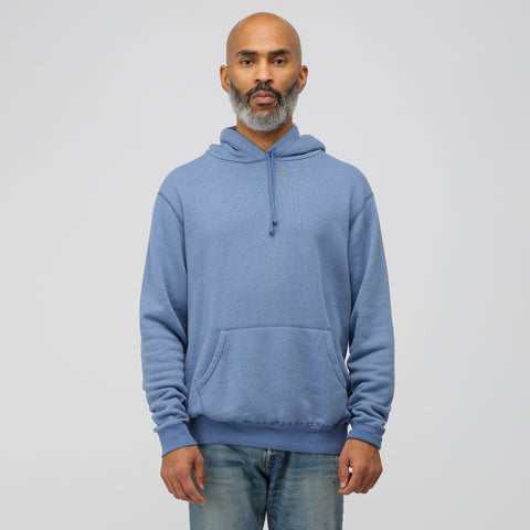 John Elliott Vintage Fleece Hoodie in Blue - Notre