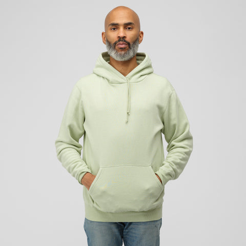 John Elliott Vintage Fleece Hoodie in Mint Green - Notre