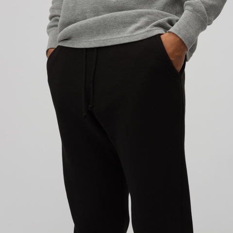 John Elliott Vintage Fleece Sweatpants in Vintage Black - Notre