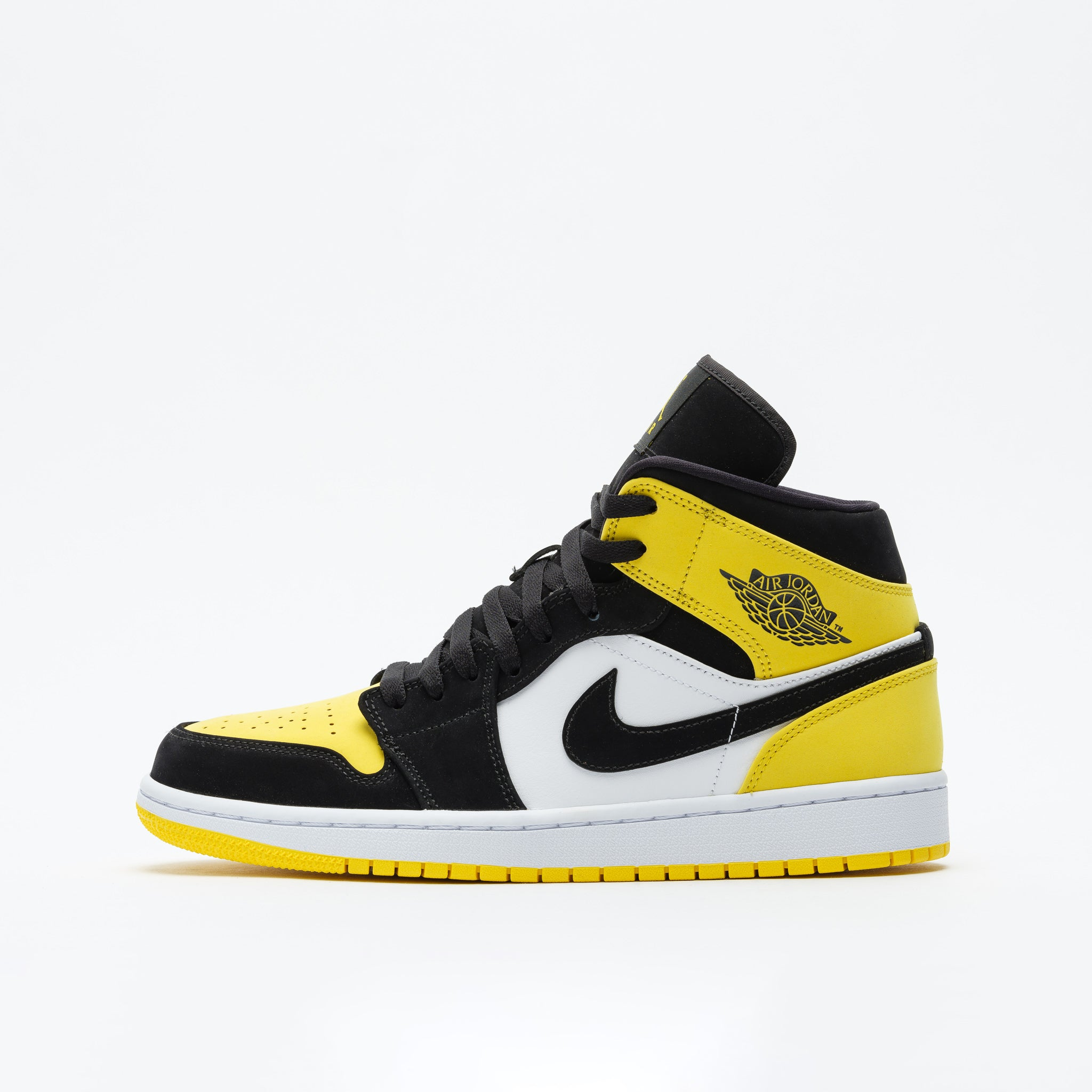 best service 065ed 26d59 Air Jordan 1 Mid SE in Tour Yellow Black