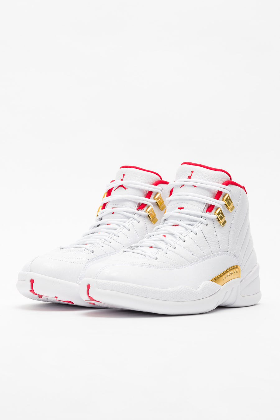 Jordan Air Jordan 12 Retro in White/Red - Notre